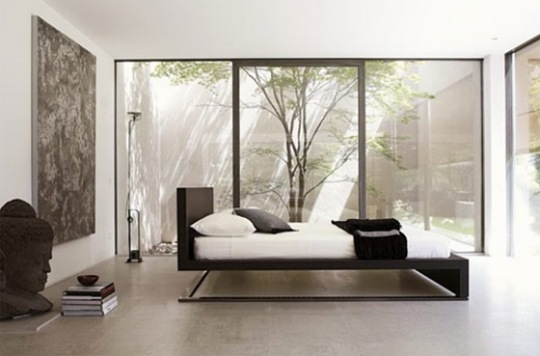 beds sleek modern urano bed