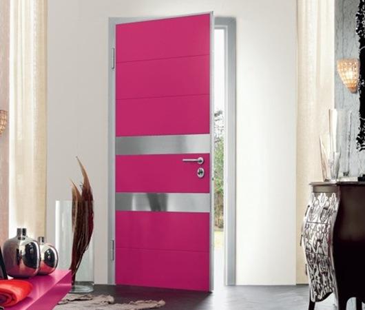 Puertas modernas para hogares contempor neos de oikos for Puertas para recamara