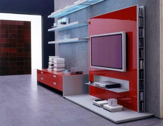 Porta Tv Alivar.Porta Tv Alivar Rojo Jpg Interiores