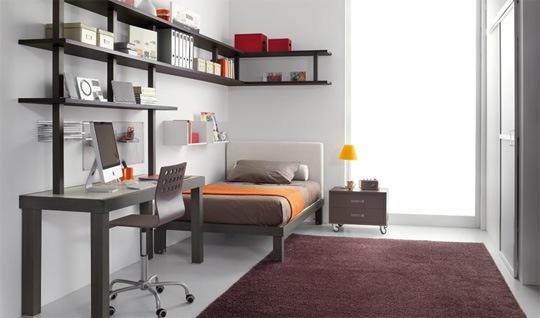 Recamaras dormitorios juveniles for Dormitorios minimalistas pequenos