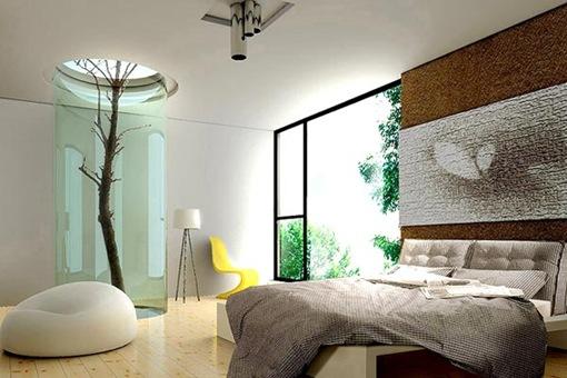 diseo de recamaras17 thumb 21 diseños modernos y elegantes de dormitorios