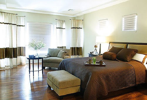 21 dise os modernos y elegantes dormitorios interiores for Disenos de alcobas principales