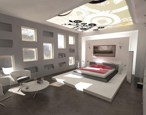 diseo de recamaras4 thumb 21 diseños modernos y elegantes de dormitorios