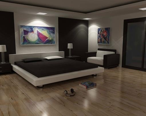21 dise os modernos y elegantes dormitorios interiores for Disenos de cuartos para hombre