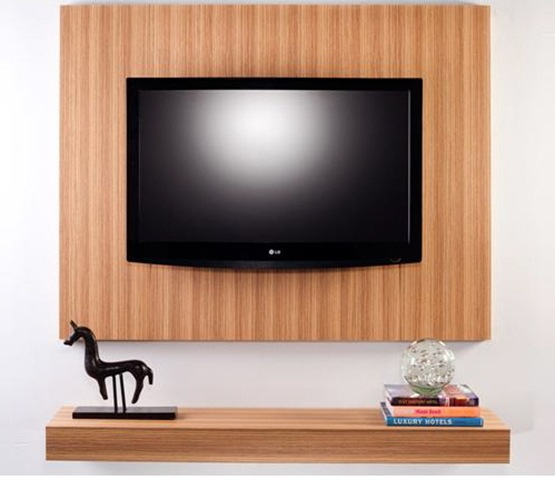 Muebles para montar la tv en la pared con estilo interiores for Muebles para tv contemporaneos