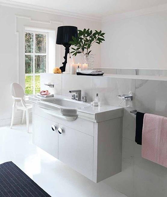 Baños Residenciales Modernos:Classic Modern Bathroom Design