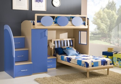 50 dise os de recamaras infantiles contempor neas por giessegi interiores. Black Bedroom Furniture Sets. Home Design Ideas