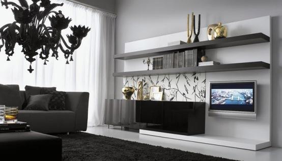 25 salas de estilo moderno y minimalistas por tumidei Decoracion de interiores estilo minimalista
