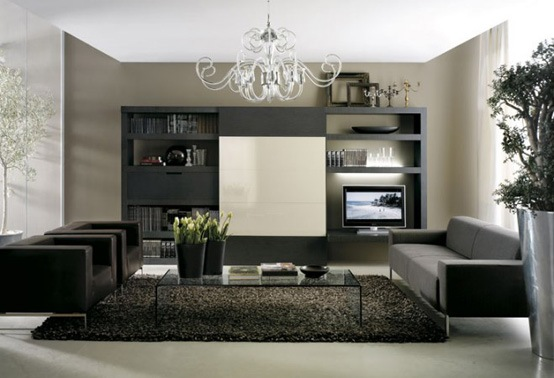 25 salas de estilo moderno y minimalistas por tumidei for Como decorar una casa minimalista