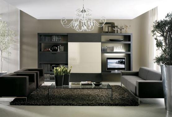 25 salas de estilo moderno y minimalistas por tumidei