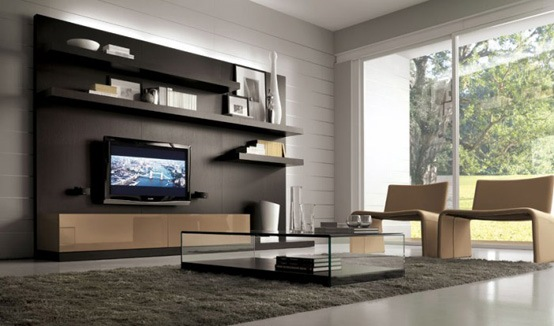 25 salas de estilo moderno y minimalistas por tumidei Decoracion de interiores salas 2016