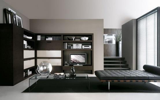 25 salas de estilo moderno y minimalistas por tumidei for Decoracion de casas minimalistas pequenas