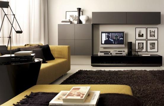 25 salas de estilo moderno y minimalistas por tumidei for Interiores de salas modernas