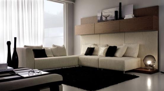 25 salas de estilo moderno y minimalistas por tumidei for Sala casa minimalista