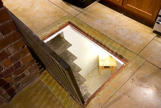 Inspiraci n true loft living en phoenix interiores - Escaleras para sotanos ...