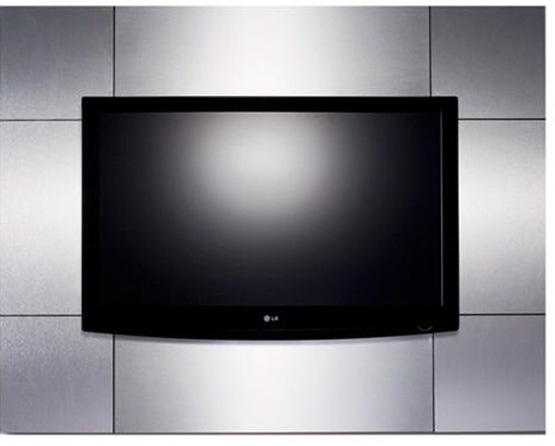 Muebles para montar la tv en la pared con estilo interiores for Televisores en la pared