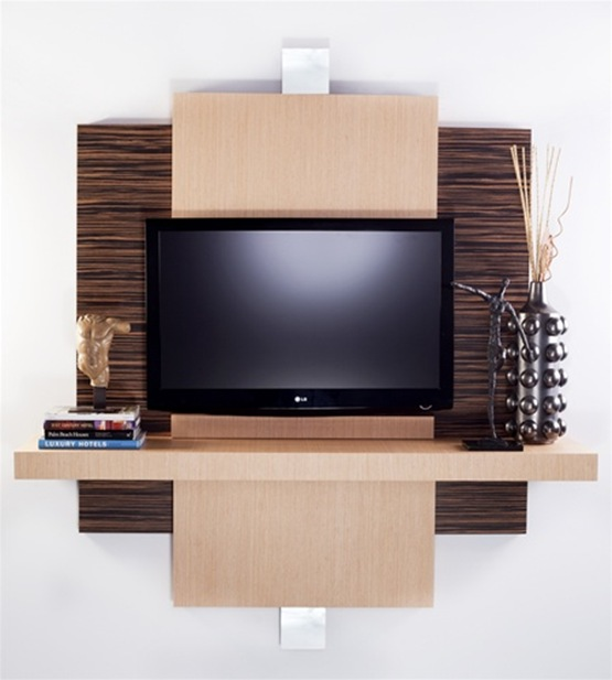 Tv Stand Unit Designs : Muebles para montar la tv en pared con estilo interiores