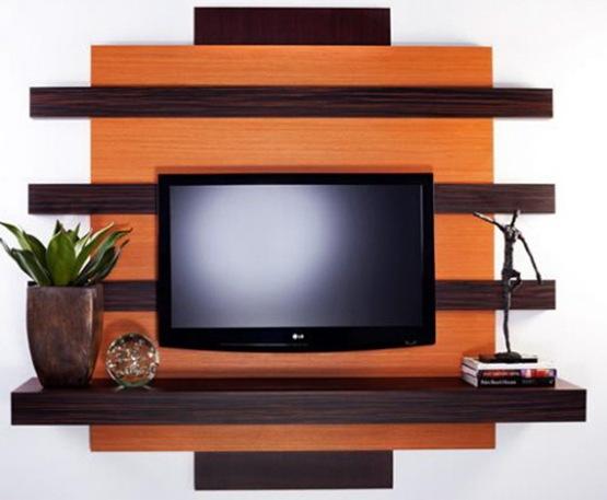 Muebles para montar la tv en la pared con estilo interiores for Muebles de pared