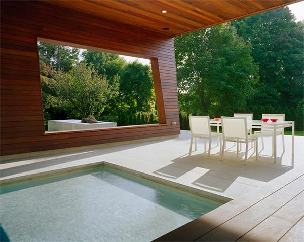 Casa alberca wilton 6 interiores for Piscinas en interiores de casas
