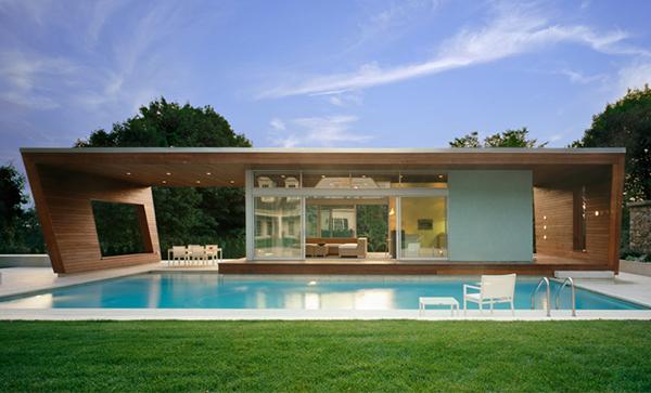 Casa alberca wilton interiores for Piscinas super baratas