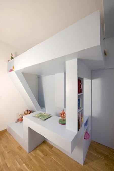 Genial uso del espacio7 interiores - Etagenbett interio ...