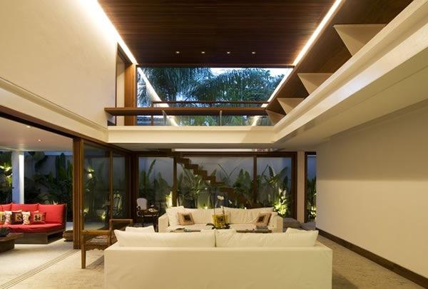 Casa minimalista gr por bernardes jacobsen architecture for Interior casa minimalista