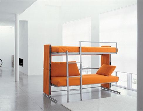 Ideas inteligentes para decorar casas peque as - Etagenbett interio ...