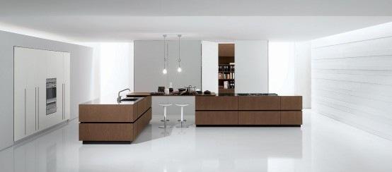italian modern kitchen cube by bravo 2 554x244 - Cocinas De Diseo Italiano