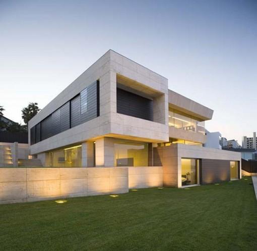 Modern Home Exterior Design Ideas 2017: Casa En Galicia Por A-cero Architects
