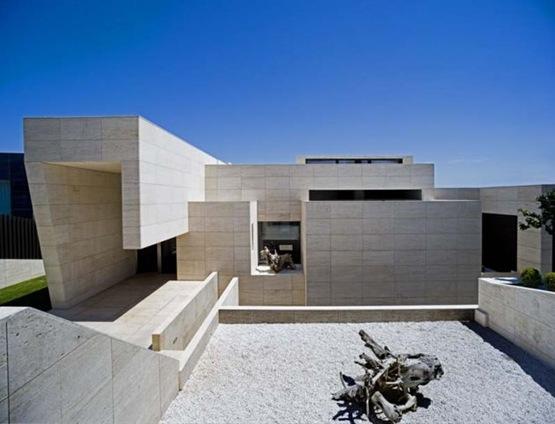 Casa en galicia por a cero architects interiores for Casa de lujo minimalista y espectacular con piscina por a cero