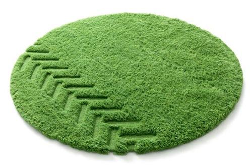 green-rug