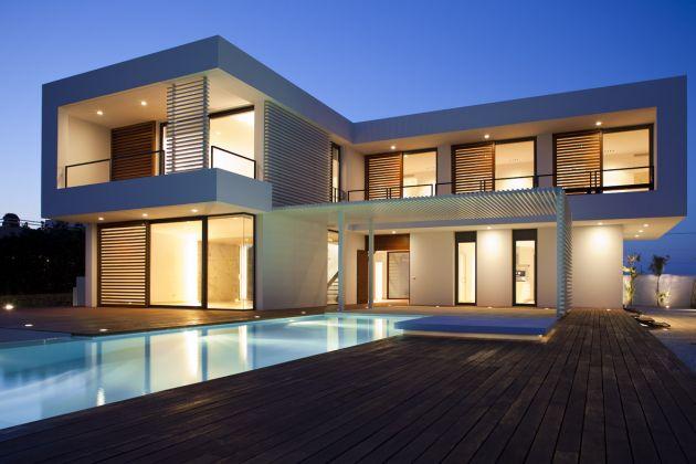 Casa de verano en espa a por el arquitecto pablo serrano interiores - Arquitecto de interiores madrid ...