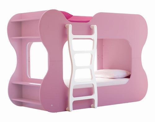 pink furniture bunkbeds neoset