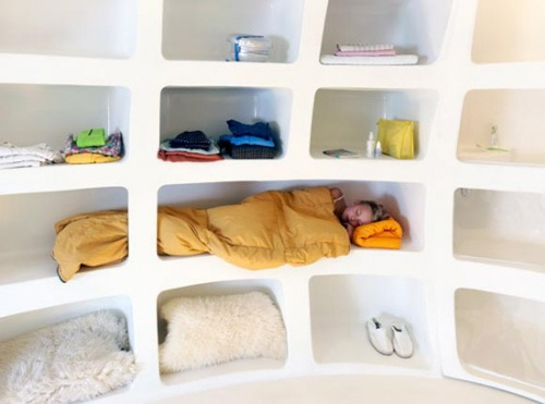 small space sleeping