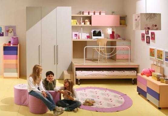 Ideas para decorar cuartos infantiles peque os interiores for Ideas para decorar cuartos infantiles