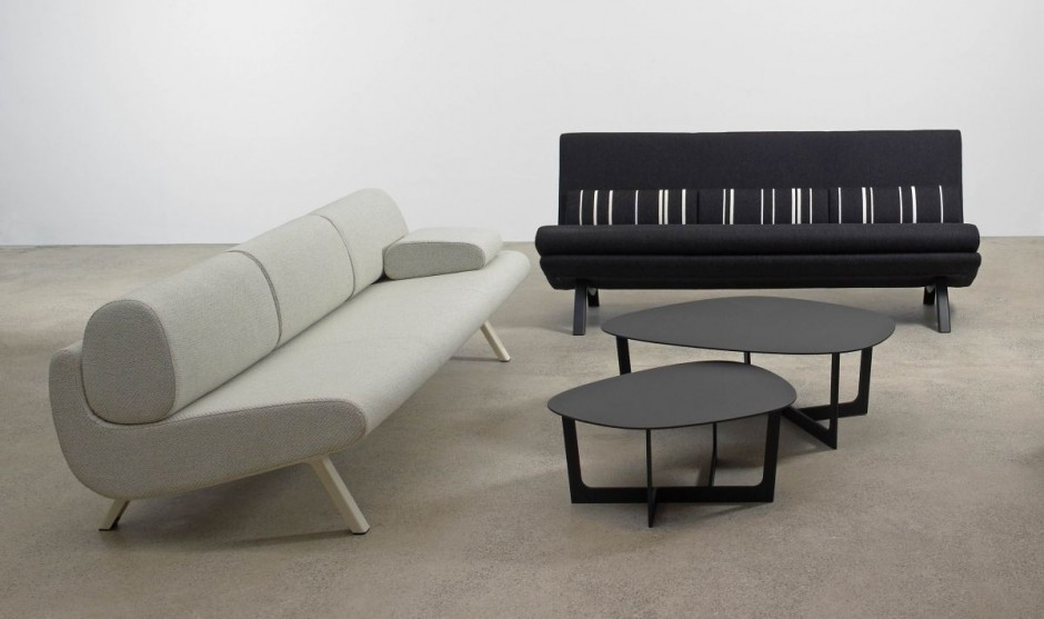 Duplo juego de sof s de dise o contemporaneo interiores - Juego de diseno de interiores ...