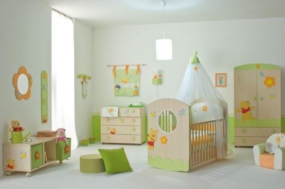 habitacion para bebe inspirada en winnie pooh 01