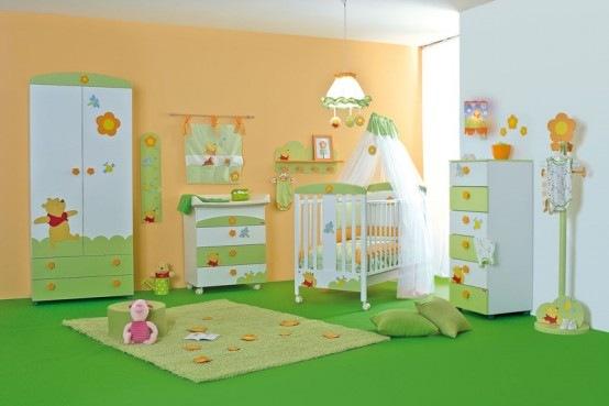 habitacion para bebe inspirada en winnie pooh 02