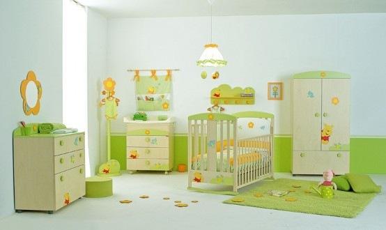 Habitaci n para tu bebe inspirada en winnie pooh interiores for Winnie pooh kinderzimmer