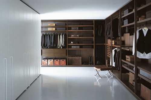 large closet spaces