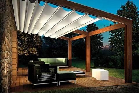 Estructuras De Madera Para Tu Terraza O Jardin Interiores
