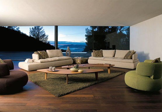 Dise os contempor neos de sof s para tu sala de estar for Diseno de interiores sala de estar