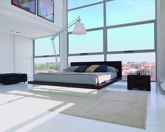 12 ejemplos de dormitorios minimalistas interiores for Imagenes de recamaras estilo minimalista