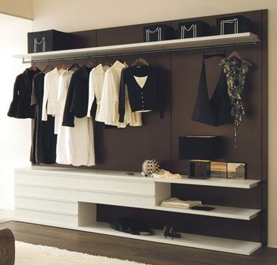 Vestidores de dise o en tu dormitorio interiores Diseno de interiores closets modernos