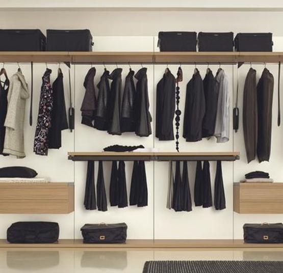 Vestidores de diseño en tu dormitorio | Interiores