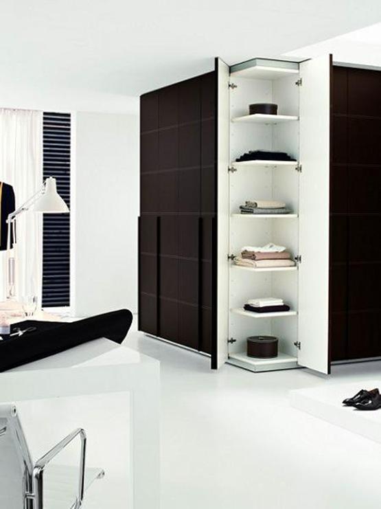 Vestidores de dise o en tu dormitorio interiores for Disenos de roperos para dormitorios