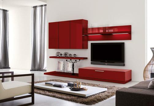 Centros de entretenimiento modernos para nuestra sala for Muebles de interior modernos