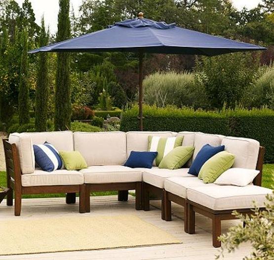 Muebles de madera para tu jardín 03