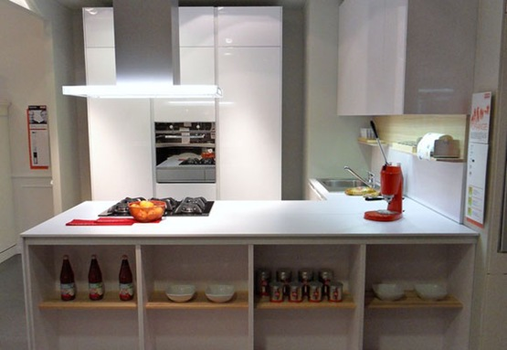 cocina moderna para espacios pequeños 01