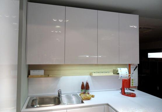 Cocina moderna para peque os espacios interiores Modelos de cocinas modernas para espacios pequenos